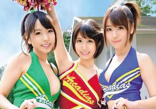 ◆JK◆「またイっちゃうぅ!!♡」チア美少女と悶絶SEX➡メガネ優等生がトイレでフェラ抜き!!