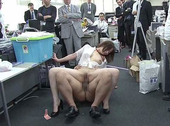 ◆SOD◆『あぁん、見ないでぇ♥』セクハラ衣装で企画チャレンジ!オフィスでSEXさせられる羞恥に耐えるOLw