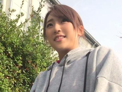 ◆素人◆『あんんッ…それキモチぃ…♥』健康エロスのスポーツ女神!爆乳娘を押しまくって電マ責め&激ピストン!!