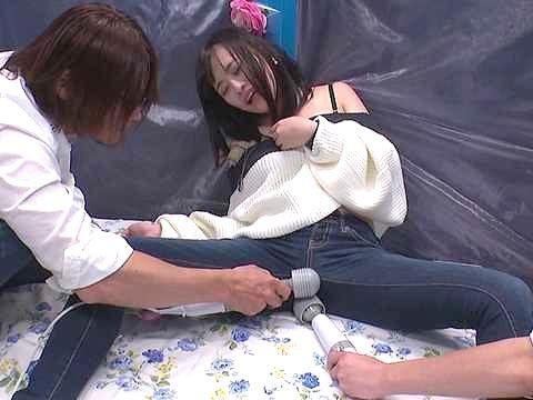 ◆MM号◆『いやぁッ!キモチぃ!!』ハイスピード振動に絶叫!寝取られFuckでビクビク痙攣イキしちゃう素人お姉さんw