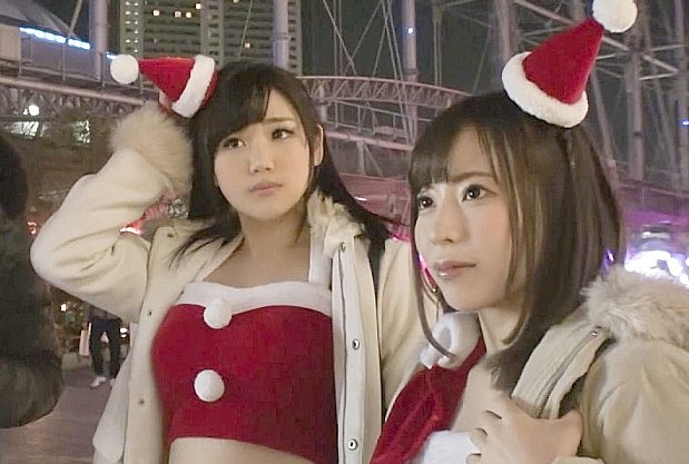 ◆素人◆『だめぇ、気持ちぃ…♥』クリスマスにコスプレギャルをGET!即ホで乱れる悶絶Fuckwww