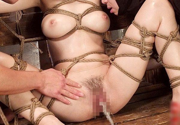 ◆凌辱◆『あぁっ、ガマンできない♥』巨乳美女を緊縛で調教、マシンバイブ攻撃に身体ビクビク痙攣イキ!イラマチオ羞恥の性奴隷