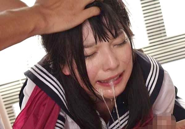 ◆レイプ◆『お願い、やめて…!』制服女子校生が鬼畜な強姦の餌食!イラマチオ凌辱に無理ハメで連続Fuck