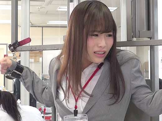 ◆科学◆『こ、コレ何ですか!?』OLがお姉さんを拘束して電マ凌辱!オフィスで絶叫しまくり絶頂しちゃう美女www