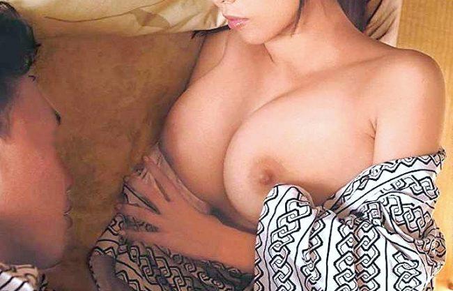 ◆企画◆『な、なんで一緒の部屋なの!?』宿屋の手配ミスで巨乳な同僚と一緒に就寝!浴衣はだけて興奮⇒理性崩壊の夜這いSEX