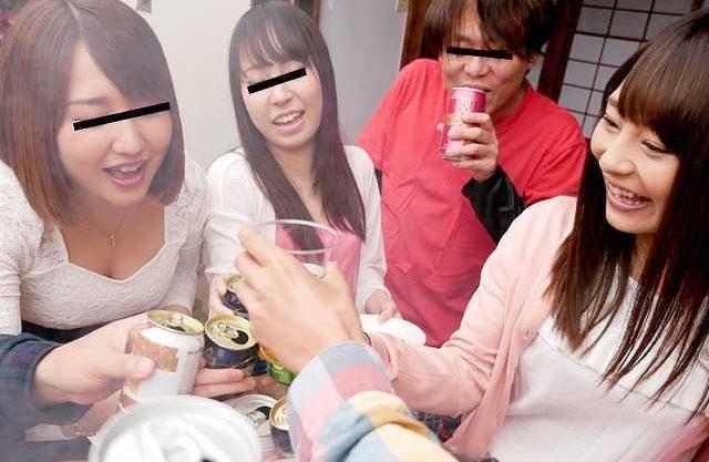 ◆NTR◆『少し酔っちゃったかも…♥』サークル合宿でチャラ男に寝取られる愛しの彼女!空気に流されて乱交に参加してしまう