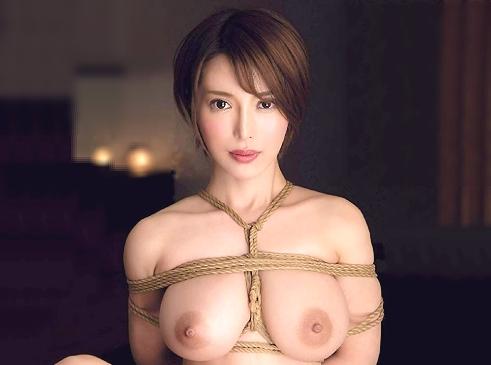 ◆緊縛◆『縛ってください…♥』デカ乳輪のパイパン人妻が凌辱志願!拘束されて巨乳揺れちゃう本気絶頂のNTR性交ww