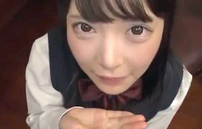 ◆五十嵐星蘭◆『気持ちよかった?♥』兄のチ○ポに奉仕する制服女子校生!ロリ顔で見つめる主観フェラ&こっそりFuck