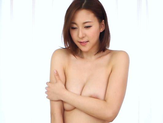 ◆爆乳◆『照れちゃいます…♥』スレンダー巨乳なお姉さんが初撮り!美ボディ披露&オマ○コ刺激に本気悶絶しちゃうww