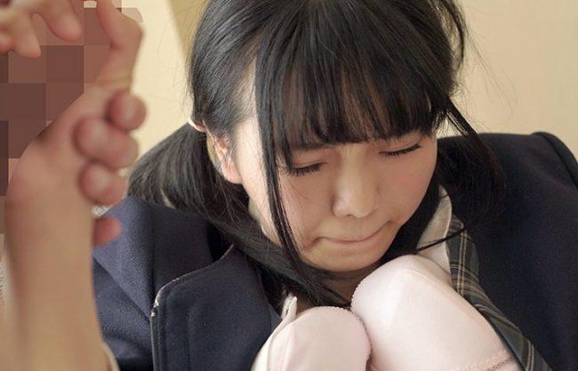 ◆爆乳◆『ゆるして下さい…♥』禁止された男女交際を見つかった女子校生!変態教師にフェラ&脅迫で奴隷化されるパイパン娘